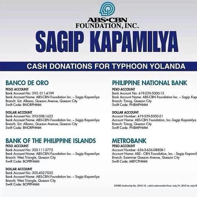 Ways to help #YolandaPH (#Haiyan) victims
